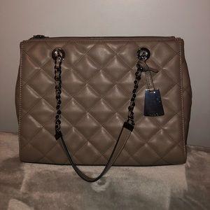 NEW Aldo Dark Grey Tote Bag